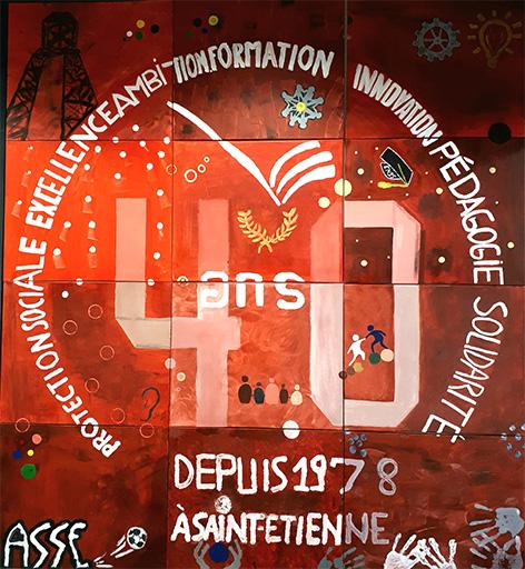 EN3S 40 ans à Saint-Etienne